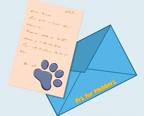 Illustration af brev fra Bamseven