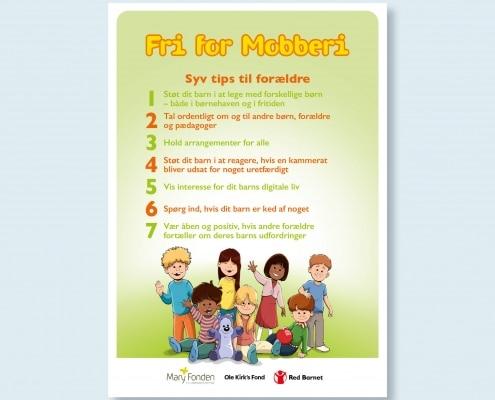Plakat med tips til forældre i børnehave
