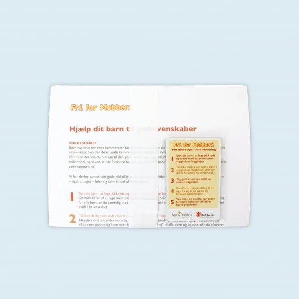 Forældrebrev 0 - 3 år inkl magnet