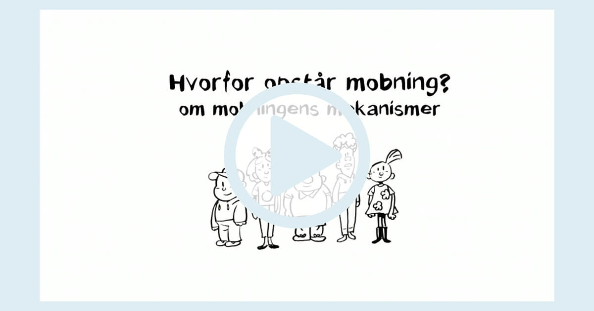 Illustration til film om mobning